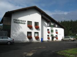 Hotel Photo: Apartmenthaus Waldblick