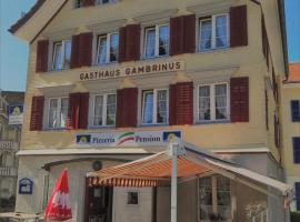 Hotel Photo: Pizzeria-Pension Gambrinus