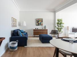 Hotel photo: Elegant and bright apartment in Estoril