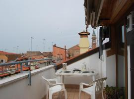 Sunset Terrace Chioggia Italy