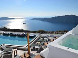 Santorini's Balcony Art Houses Imerovigli Greece