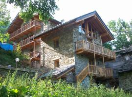 Chalet Pietra Fontainemore Італія