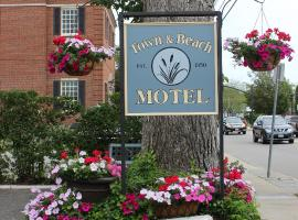 A picture of the hotel: Town & Beach Motel