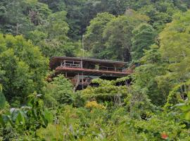 Lookout Inn Beach Rain-forest Eco Lodge Carate Costa Rica