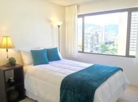 One Bedroom Condo - Full Amenities - Parking - Longer stay recommended. Honolulu USA