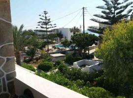 Seaside apartment with shared pool Ambelas Greece