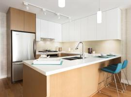 Hotel Photo: Lovely 2 bedroom with Sauna and pool by YVR and Skytrain