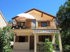 Hotel Photo: One-Bedroom Apartment in Karlobag I