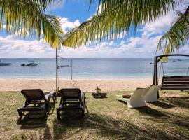 Pearly Sands - Beachfront Deluxe Apartment Roches Noires Mauritius
