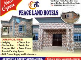 Hotel Photo: Peace Land Hotel