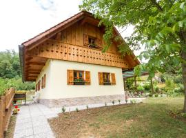 Hotel photo: Country House Srček with Two Bedrooms and Vineyard View
