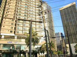 ADB Avenue Tower Condo Hotel Unit Manila Philippines