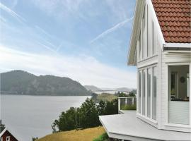 A picture of the hotel: Four-Bedroom Holiday Home in Farsund