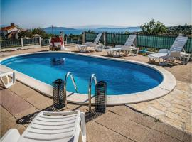 Hotel Photo: Five-Bedroom Holiday home Kastel Novi with Sea view 08