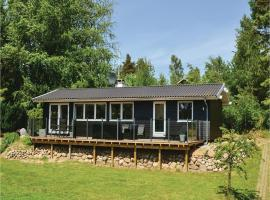Hotel Photo: Three-Bedroom Holiday home Ebeltoft with a Fireplace 07