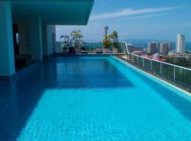 Condo The View Cozy Beach Residence Pattaya South Thailand
