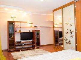 Hotel Photo: Apartment Irtyshskaya Naberezhnaya 29