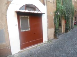 In the heart of Trastevere Rome Italy