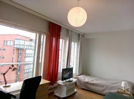 Studio Apartment with Sauna Pori Finland