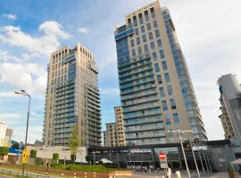 Platinum Towers Apartments Warsaw Poland