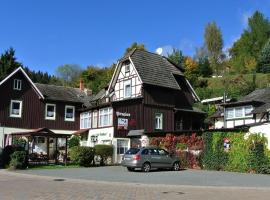 Hotel Photo: Pension Felseneck Zur Bodehexe