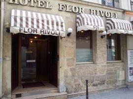 Hôtel Flor Rivoli Paris France