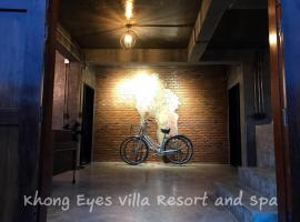 Hotel photo: Khong Eyes Villa Resort and Spa