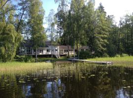Hotel photo: Luxury Lake Villa Vaapukka