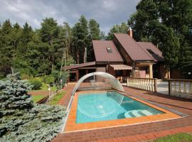 Hotel photo: Dream forest house of Kaunas Reservoir