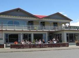South Sea Hotel - Stewart Island Half-moon Bay New Zealand