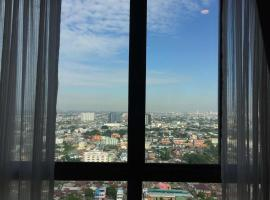 Hotel Photo: Bangkok skylights condo by Audrey