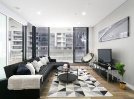 Hotel photo: Chic CBD Pad + Pool + Gym + Sauna + Parking