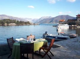 Hotel Photo: Beautiful House with Terrace on Sea - Bjelila Bay Kotor