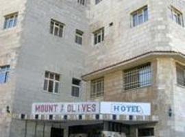 Mount of Olives Hotel Jerusalem Israel