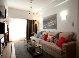 Фотография гостиницы: Comfy & Tasteful Central Apt • 1' to Metro Station