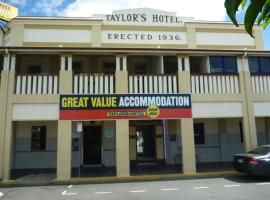 A picture of the hotel: Taylors Hotel