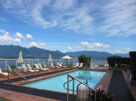 Hotel near  Vancouver Coal Harbour  airport:  Pan Pacific Vancouver Hotel