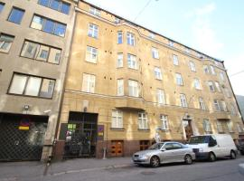 호텔 사진: Bright and stylish studio apartment in Helsinki city center (ID 7479)