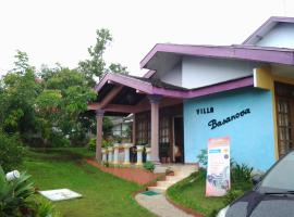 Villa and Resto Basanova Batu Indonesia