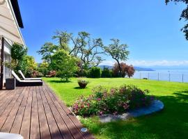 Hotel Photo: EPFL 3BD The Lake Villa in St Sulpice for 6PPL