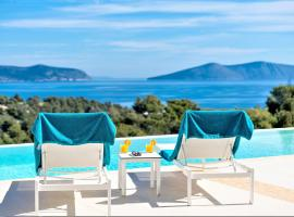 Hotel photo: Villa Emmelia & Guesthouse Amazing View with Pool
