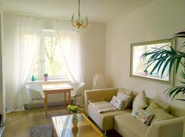 Hotel photo: Lovely and modern 2-bedroom flat with park view