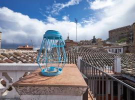 Hotel photo: Historic Toledo - Apartments with shared terrace, light and caretakers