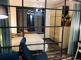 Zdjęcie hotelu: Snail House Futian CBD Exhibition Center One-Bedroom Apartment