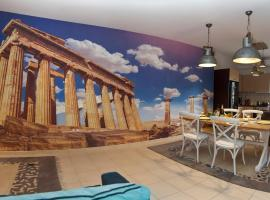Foto di Hotel: JUST ATHENS apt 130sqm one step from metro