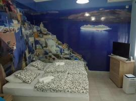Hotel photo: Most Athenian luxury studio near the sea and center