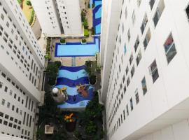 Hotel Photo: Pleasant 2BR Bassura City Apartment with Pool View By Travelio