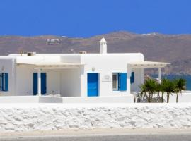 Hotel photo: Blue Cactus Villas: Modern, fully-equipped, ocean-view, 5 min from Mykonos Town