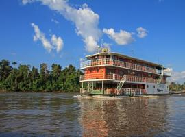 Hotel near Puerto Francisco de Orellana: Manatee Amazon Explorer
