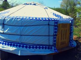 Hotel photo: Romantic Mongolian yurt in the Wild